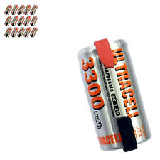15 x Sub C 1.2V Volt 3300mAh NiMH Rechargeable Battery With Tabs Ultracell