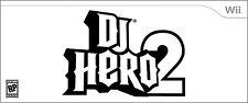 DJ Hero 2 (Turntable Bundle)  (Wii, 2010) BRAND NEW / FACTORY SEALED