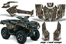 Can Am AMR Racing Graphics Sticker ATV CanAm Outlander MAX Decals 12-16 CAMO