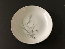 """Castle Court China Wheat Spray Gray Stems, Tan Leaves - 7-5/8"""" COUPE SOUP BOWL"""