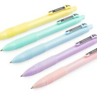 Zebra Z-Grip Smooth Ballpoint Pen - 1.0mm - Black Ink - Pastel Barrel - 5 Pack