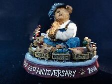 "Boyds Bears Choo-Choo McBear "" 25 Years & Still Chugging "" - In Original Box"