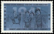 """CANADA 1345 - Second World War """"Women's Armed Forces"""" (pa48362)"""