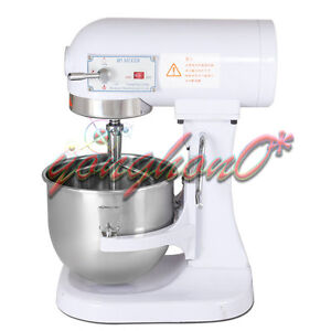 NEW 5L Household Food Dough Mixer Egg Beater Bakery Dough Mixing Machine 220V