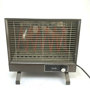 Vintage Neo-Glo Brown Space Heater Box Shape, Celebrity