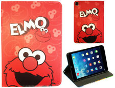 iPad Pro 9.7 iPad 9.7 iPad Air 1 2 Elmo Cookie Monster Sesame Street Case Cover