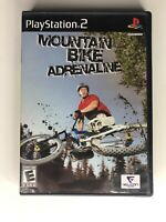 Mountain Bike Adrenaline Sony PlayStation 2 PS2 Video Game Complete & Tested CIB