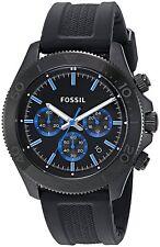 Fossil CH2875 Men's Retro Traveler Black Stainless Steel Watch