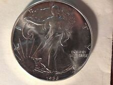 1986 American Silver Eagle BU .999 1 Ounce