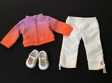 Genuine American Girl Doll Clothes - McKenna's Warm Up Outfit