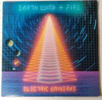 Earth Wind & Fire Electric Universe LP Columbia Records '83 Record VG Sleeve VG