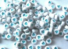 Acrylic Turquoise Jewellery Beads