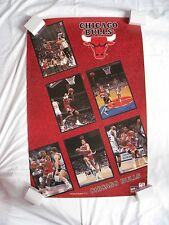 Chicago Bulls Team 1991 Vintage Poster