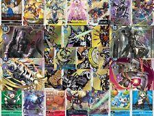 Digimon Card Game 2020 BT2 Singles - C UC R SR SEC Parallel Wargreymon Dukemon
