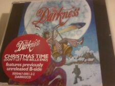 THE DARKNESS Christmas Time CD Single POST FREE