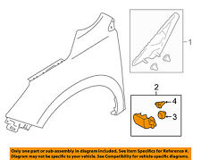 SUBARU OEM 14-16 Forester Front Fender-Lower Molding Trim Panel Right 91112SG101