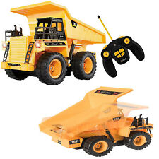 Remote Control Dump Truck RC Vehicle 5 Channel Full Functional Kids Toy Electric