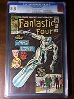 Fantastic Four #50 (1966) - Silver Surfer! Galactus! - CGC 8.5 - Key!!
