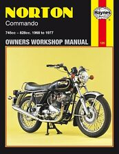 0125 Haynes Norton Commando (1968 - 1977) Workshop Manual