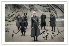 CAST - GAME OF THRONES SIGNED PHOTO PRINT AUTOGRAPH