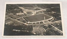 VINTAGE RPPC OLYMPICS OLYMPIAD GAMES BERLIN 1936 GERMANY POSTCARD STADIUM FIELD