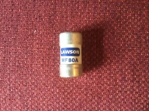 Lawson MF80A Cut Out Fuse - 80 Amp BS88