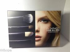MAC Look in a Box Brush Kit Basic NIB Travel Size 129SE 204SE 224SE 239SE 266SE