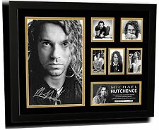 MICHAEL HUTCHENCE INXS SIGNED LIMITED EDITION FRAMED MEMORABILIA