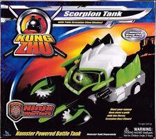 Kung Zhu Zhu Pets Scorpion Tank Rhino Tank & Spider Skull Tank sealed 2010