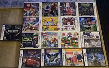 Nintendo 3ds/ Ds 17 Games Lot & Mario Case, Car Charger, Stylus- Luigi, Mario!