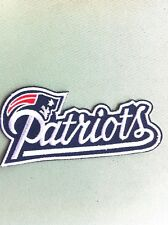 New England PATRIOTS Patch /NFL/- NEW, Iron On- Good GIFT!!.- FREE Shipping USA