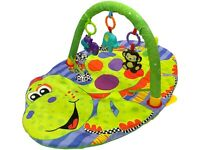 Baby Playmat Croc On The Rock Play Mat Lay & Play With Sensory Toys