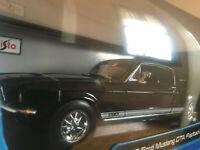Maisto Die-cast 1:18 Brand New (NIB) S/E 1967 Ford Mustang GTA Fastback