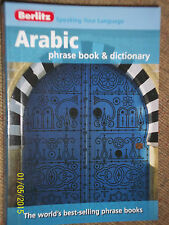 BERLITZ ENGLISH To ARABIC To ENGLISH POCKET TRAVEL PHRASE BOOK WITH DICTIONARY