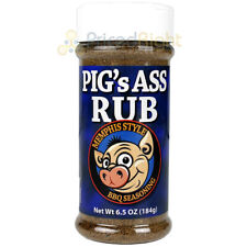 Pigs Ass Rub Memphis Style BBQ Seasoning 6.5 Oz Competition Rated BBQ Blend