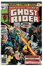 GHOST RIDER #24 (NM-) ENFORCER & The WATER WIZARD Cover Story Appearance! Marvel