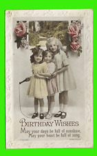 Birthday Wishes - May your days be full of sunshine ungel. 1902
