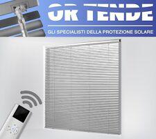 Tenda Alla Veneziana da 15 mm - SU MISURA modello MOTORIZZATA con Telecomando