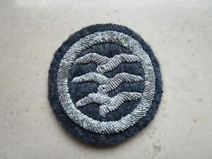 Segelfliegerabzeichen 3.Stufe aus Stoff Ärmelabzeichen f.d. Uniform