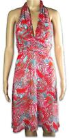 Ladies Size 12 Bebe Sydney Halter Dress ~ Made In Australia ~ MBC