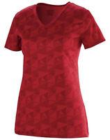 Augusta Sportswear Women's Polyester V Neck Elevate Short Sleeve T-Shirt. 1792
