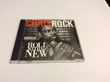 """CHRIS ROCK """"ROLL WITH THE NEW"""" CD 1997 SKG MUSIC DRMD-50008"""