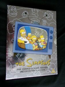 The Simpsons Complete First Season DVD Collector's Edition - PG - Factory Sealed