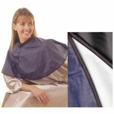 Hairdressing PVC Shoulder Cape Black by HairTools Salon/Hairdressing SAMEDAY DIS