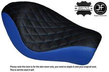 Black & R Blue Diamond Custom Para Harley Sportster Low Hierro 883 Solo Cubierta de asiento