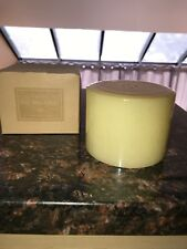 Longaberger Pint Size Pillar Candle In Vanilla
