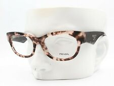 Prada VPR 13Q ROJ-1O1 Eyeglasses Glasses Pink Brown Tortoise 52-18-140 Display