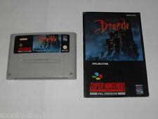 Jeu vidéo Super Nintendo Super Nes Snes Dracula