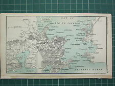 Antique South America City Maps EBay - South america cities map