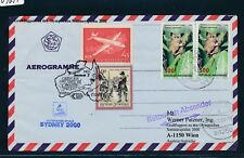 09657) Lauda Olympiade So-LP Wien - Sydney 15.9.2000, cv.Indonesien 2x Maki